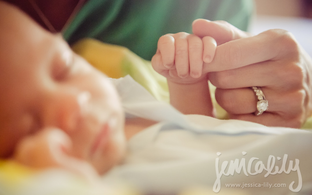 David welcomes baby brother James!   Lawrenceville Lifestyle Photographer