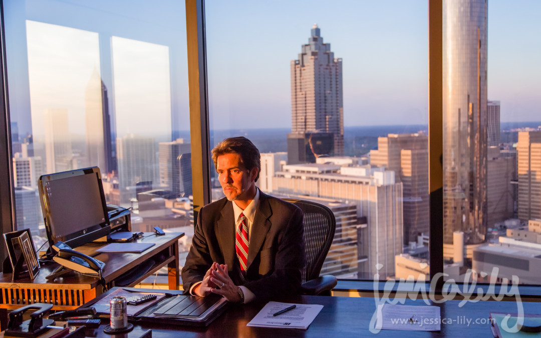 the Pate Law Firm   Atlanta Business Portraits