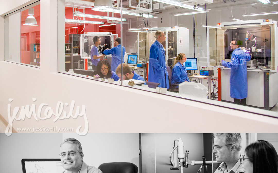 the new X-Ray Lab with director John Bacsa at Emory University Chemistry