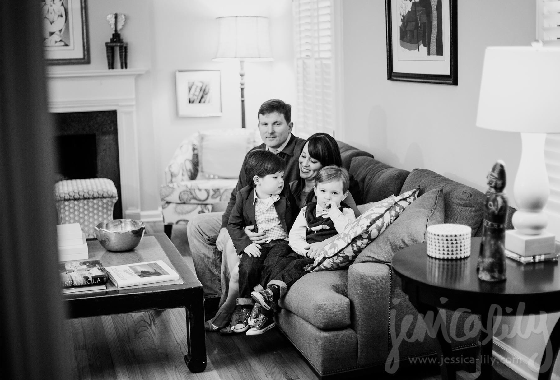 Atlanta Kids Photography Family Portraits With Jessica Lily - 10 portrait photos of people before after the photographer kissed them
