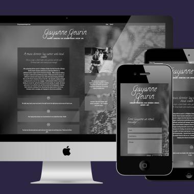 Website Designer for Gayanne Geurin