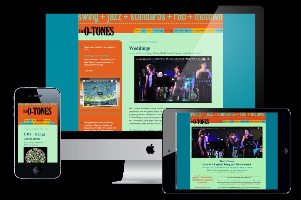 O-Tones Web Designer