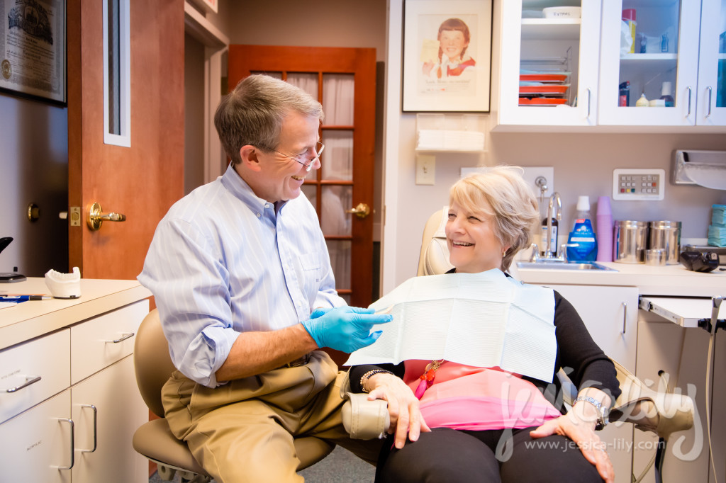 Atlanta Dentist Portraits with Jessica Lily and Dr. David G Jones, TMD Specialist