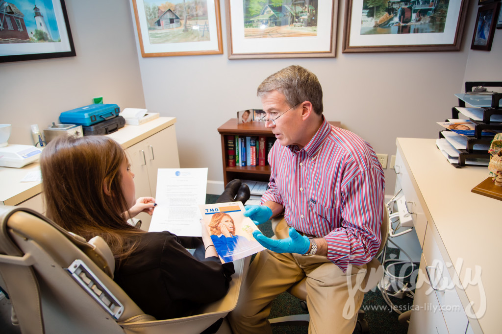 Atlanta Dentist Photographer Jessica Lily with Dr. David G Jones