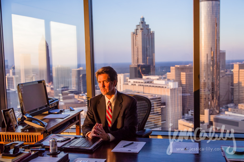 Attorney Page Pate- Atlanta Business Portraits