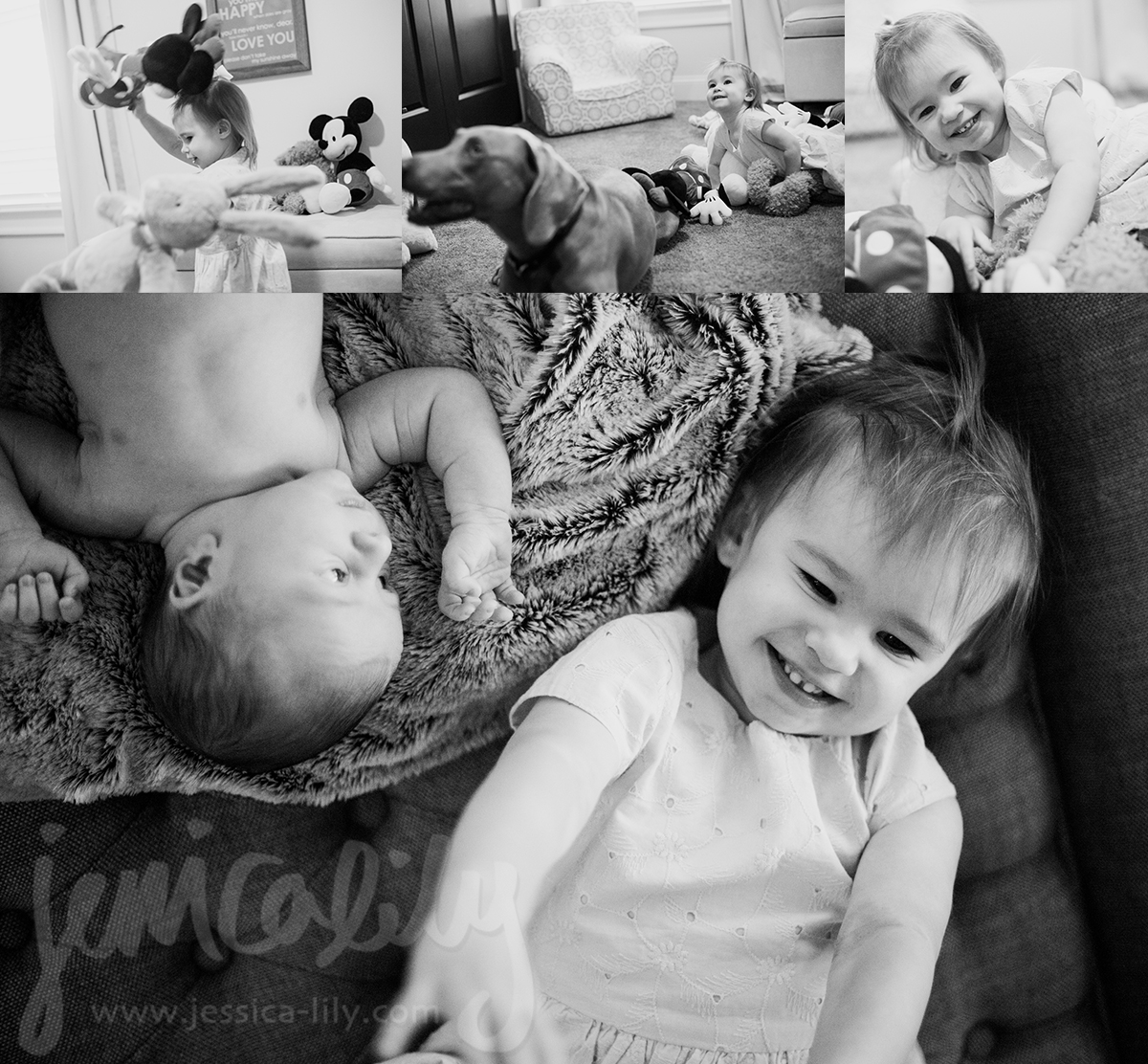 Newborn Family with Jessica Lily