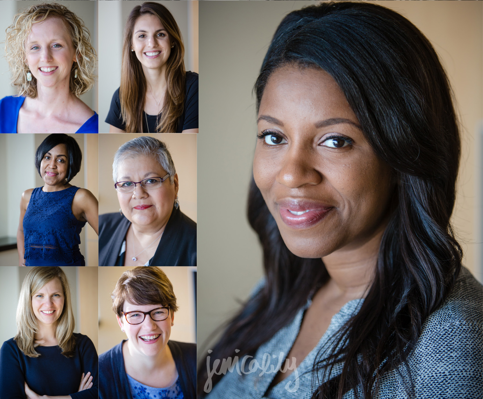 Atlanta Headshots of The Women of Emory PEIDS
